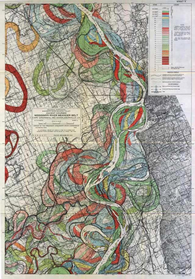 2013 03 08 harold n fisk mississippi river 01 Harold N. Fisk   Mississippi River