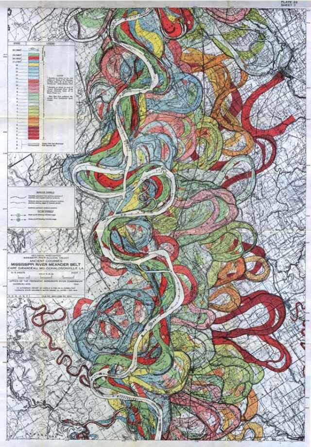 2013 03 08 harold n fisk mississippi river 03 Harold N. Fisk   Mississippi River