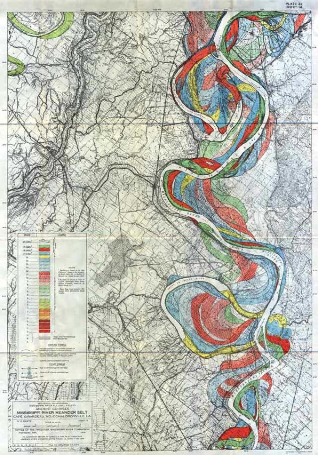 2013 03 08 harold n fisk mississippi river 06 Harold N. Fisk   Mississippi River