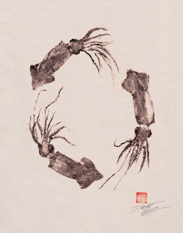 2013 04 09 dwight hwang Gyotaku 01 Dwight Hwang