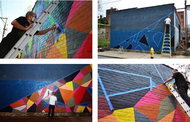 2013 07 12 Matt W Moore murals geometry 06 Matt W. Moore