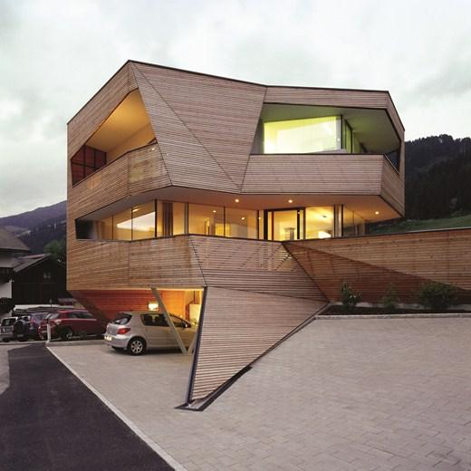 Plasma Studio cube house 7 Plasma Studio   Cube House