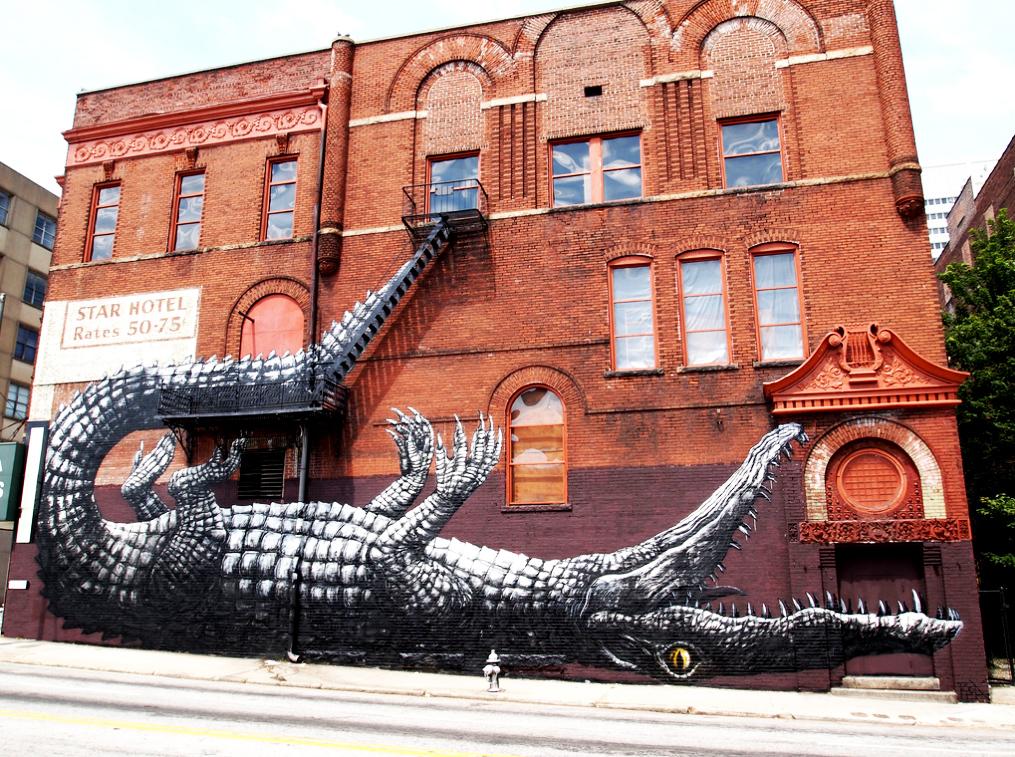 ROA Street art 1 ROA