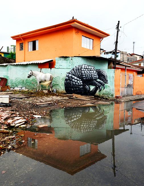 ROA Street art 11 ROA