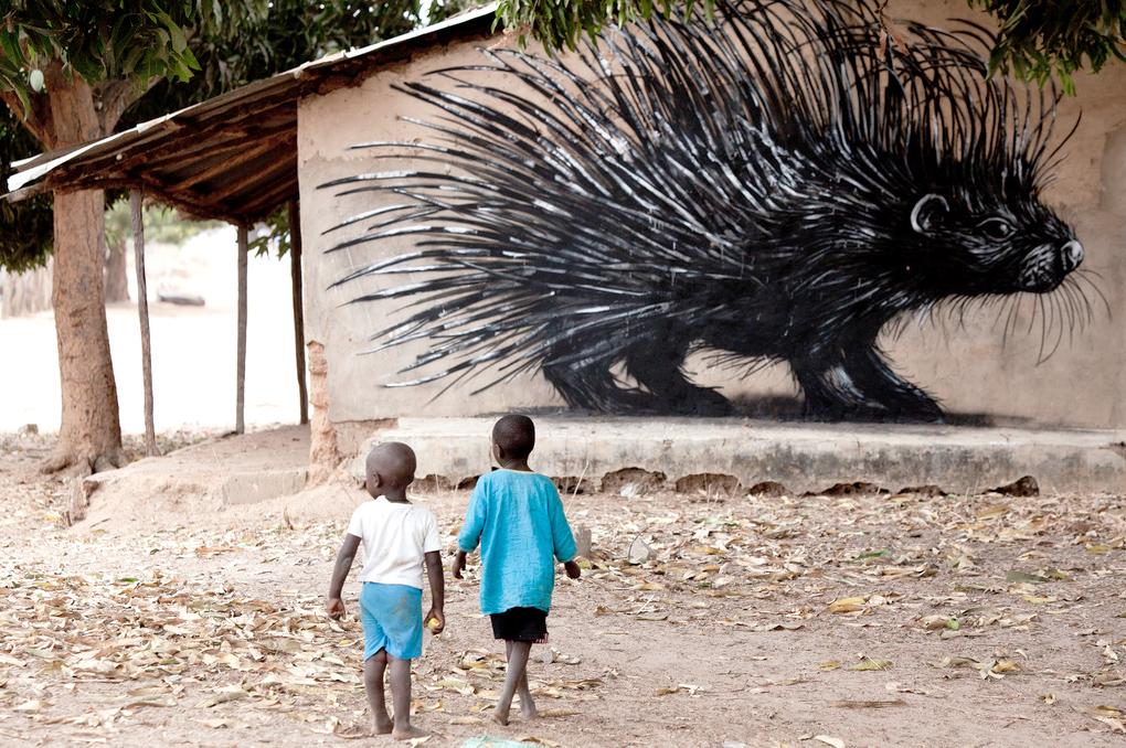 ROA Street art 3 ROA