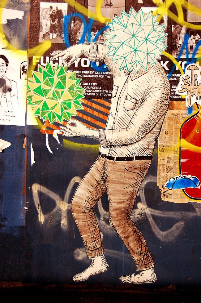 street artist feral 2 Feral
