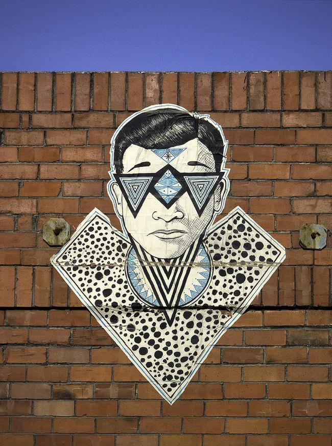 street artist feral 3 Feral