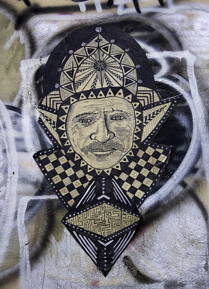street artist feral 7 Feral