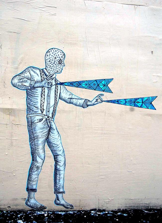 street artist feral 8 Feral