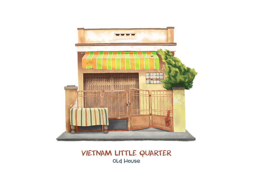 2017 03 19 Vietnam Little Quarter 04 Vietnam Little Quarter