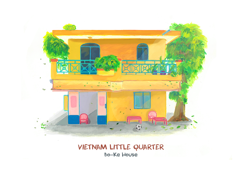 2017 03 19 Vietnam Little Quarter 07 Vietnam Little Quarter