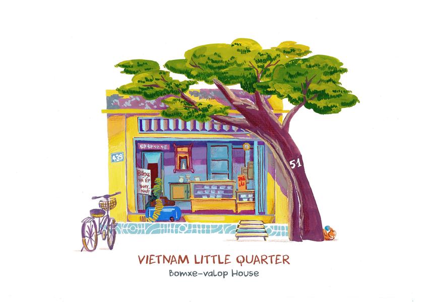 2017 03 19 Vietnam Little Quarter 08 Vietnam Little Quarter
