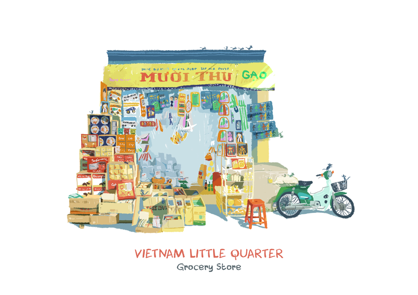 2017 03 19 Vietnam Little Quarter 10 Vietnam Little Quarter