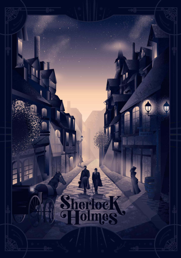 la maison vide Sherlock 717x1024 Anaïs Marchais